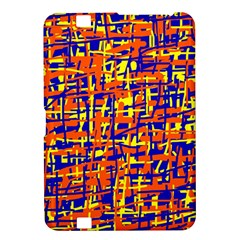 Orange, blue and yellow pattern Kindle Fire HD 8.9