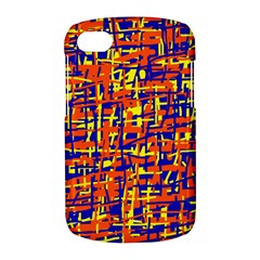 Orange, blue and yellow pattern BlackBerry Q10