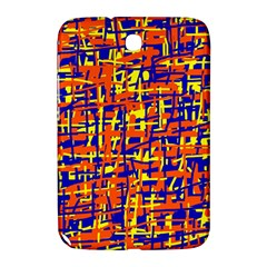 Orange, blue and yellow pattern Samsung Galaxy Note 8.0 N5100 Hardshell Case