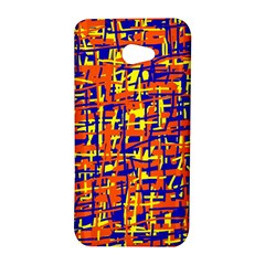 Orange, blue and yellow pattern HTC Butterfly S/HTC 9060 Hardshell Case