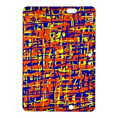 Orange, blue and yellow pattern Kindle Fire HDX 8.9  Hardshell Case