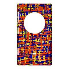 Orange, blue and yellow pattern Nokia Lumia 1020
