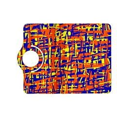 Orange, blue and yellow pattern Kindle Fire HD (2013) Flip 360 Case