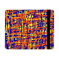 Orange, blue and yellow pattern Samsung Galaxy Tab Pro 8.4  Flip Case