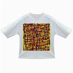 Red, yellow and blue pattern Infant/Toddler T-Shirts