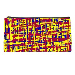 Red, yellow and blue pattern Pencil Cases