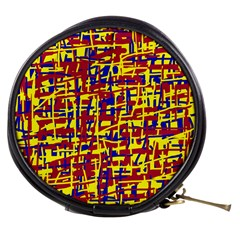 Red, yellow and blue pattern Mini Makeup Bags