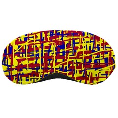 Red, yellow and blue pattern Sleeping Masks