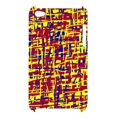 Red, yellow and blue pattern Apple iPod Touch 4