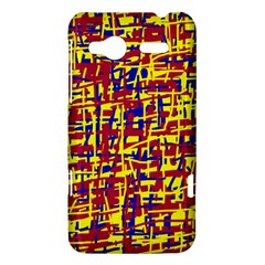 Red, yellow and blue pattern HTC Radar Hardshell Case