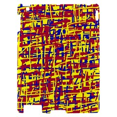 Red, yellow and blue pattern Apple iPad 2 Hardshell Case