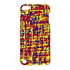 Red, yellow and blue pattern Apple iPod Touch 5 Hardshell Case