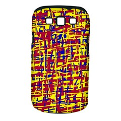 Red, yellow and blue pattern Samsung Galaxy S III Classic Hardshell Case (PC+Silicone)