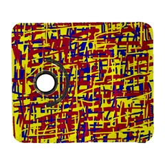 Red, yellow and blue pattern Samsung Galaxy S  III Flip 360 Case