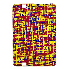 Red, yellow and blue pattern Kindle Fire HD 8.9