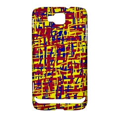 Red, yellow and blue pattern Samsung Ativ S i8750 Hardshell Case