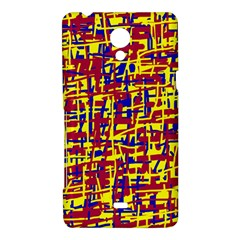 Red, yellow and blue pattern Sony Xperia T