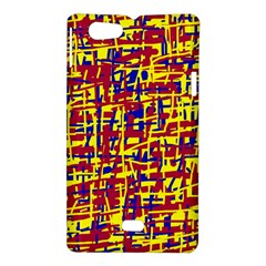 Red, yellow and blue pattern Sony Xperia Miro