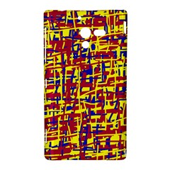 Red, yellow and blue pattern Sony Xperia ZL (L35H)