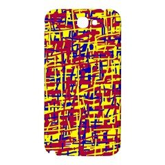 Red, yellow and blue pattern Samsung Note 2 N7100 Hardshell Back Case