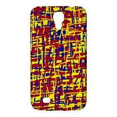 Red, yellow and blue pattern Samsung Galaxy Mega 6.3  I9200 Hardshell Case