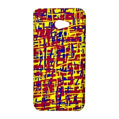 Red, yellow and blue pattern HTC Butterfly S/HTC 9060 Hardshell Case