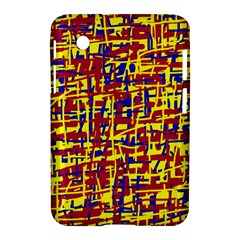 Red, yellow and blue pattern Samsung Galaxy Tab 2 (7 ) P3100 Hardshell Case
