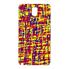 Red, yellow and blue pattern Samsung Galaxy Note 3 N9005 Hardshell Back Case