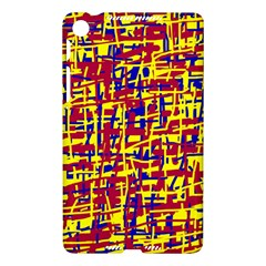 Red, yellow and blue pattern Nexus 7 (2013)