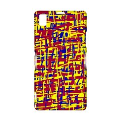 Red, yellow and blue pattern Sony Xperia Z1