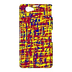 Red, yellow and blue pattern Sony Xperia Z1 Compact