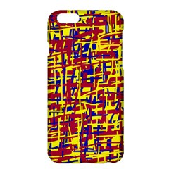 Red, yellow and blue pattern Apple iPhone 6 Plus/6S Plus Hardshell Case