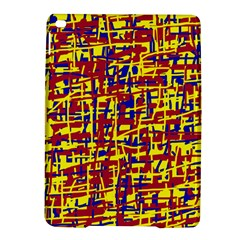 Red, yellow and blue pattern iPad Air 2 Hardshell Cases