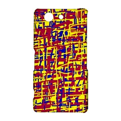 Red, yellow and blue pattern Sony Xperia Z3 Compact