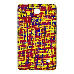 Red, yellow and blue pattern Samsung Galaxy Tab 4 (8 ) Hardshell Case