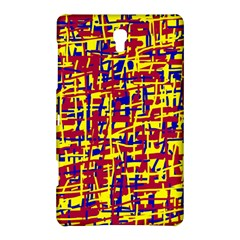 Red, yellow and blue pattern Samsung Galaxy Tab S (8.4 ) Hardshell Case