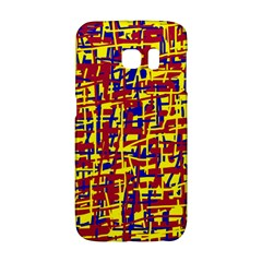 Red, yellow and blue pattern Galaxy S6 Edge