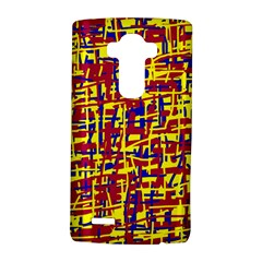 Red, yellow and blue pattern LG G4 Hardshell Case