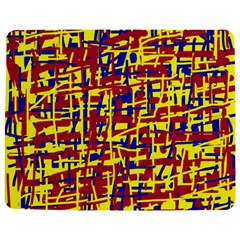 Red, yellow and blue pattern Jigsaw Puzzle Photo Stand (Rectangular)