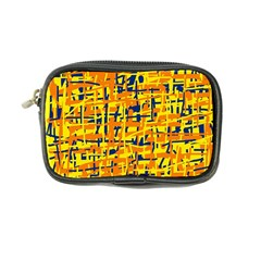 Yellow, orange and blue pattern Coin Purse