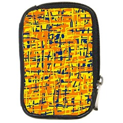 Yellow, orange and blue pattern Compact Camera Cases