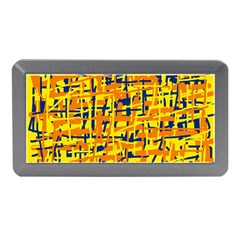 Yellow, orange and blue pattern Memory Card Reader (Mini)