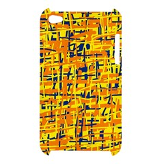 Yellow, orange and blue pattern Apple iPod Touch 4
