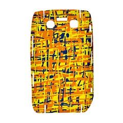 Yellow, orange and blue pattern Bold 9700