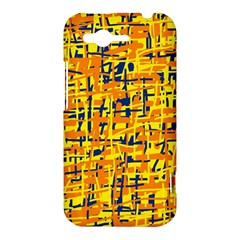 Yellow, orange and blue pattern HTC Rhyme