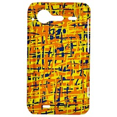 Yellow, orange and blue pattern HTC Incredible S Hardshell Case