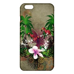 Wonderful Tropical Design With Palm And Flamingo iPhone 6 Plus/6S Plus TPU Case