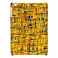 Yellow, orange and blue pattern Apple iPad Mini Hardshell Case
