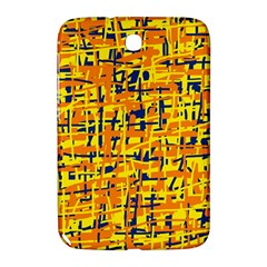 Yellow, orange and blue pattern Samsung Galaxy Note 8.0 N5100 Hardshell Case