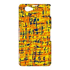 Yellow, orange and blue pattern Sony Xperia Z1 Compact